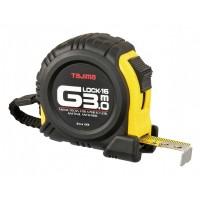 Рулетка строительная ударопрочная TAJIMA G-LOCK, G6P30MY - 3м*16мм